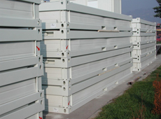 Demountable containers